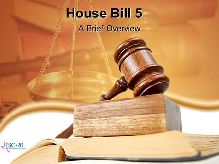 House Bill 5 A Brief Overview. Key Provisions Graduation Assessment Other Provisions –District Self-Evaluations –Financial Implications –Reporting Implications.
