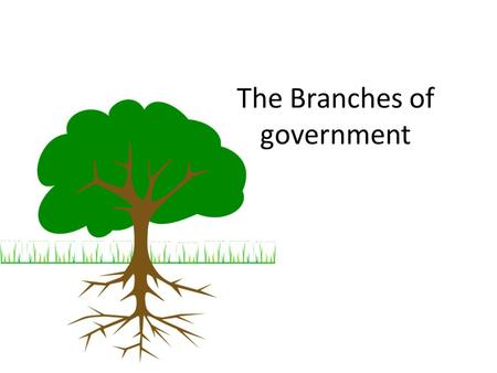 The Branches of government The powers of Canadas government are divided into three branches: Legislative Branch has the power to make or change laws.