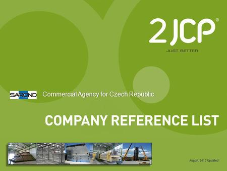Commercial Agency for Czech Republic