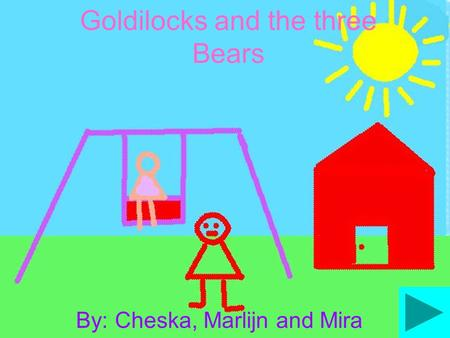 Goldilocks and the three Bears By: Cheska, Marlijn and Mira.
