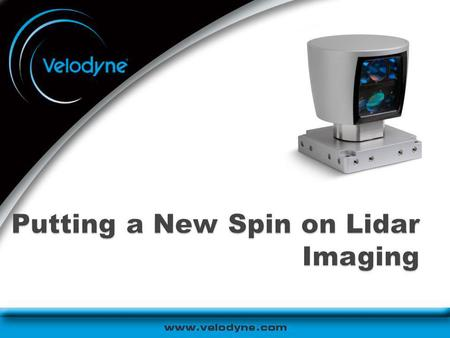 Putting a New Spin on Lidar Imaging