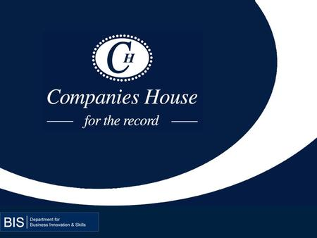 1. REVIEW OF THE UK REGISTER OF COMPANIES Helen Thewlis Head of Policy and Planning, Companies House, UK.
