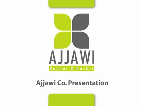 Index Introduction Mission statement Mission & Vision Scope Of Business Partners & Agencies Ajjawi Staff & Org. Chart Ajjawi Site & Facilities Logistical.