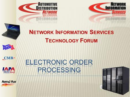 ELECTRONIC ORDER PROCESSING