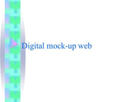 Digital mock-up web. LHC DIGITAL MOCK_UP Lien actif.