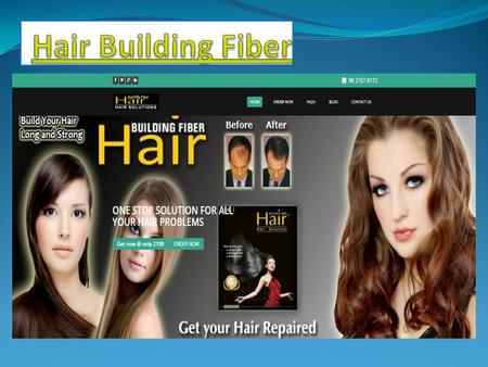 Hair Building Fiber Hair Building Fibers Hair Building Fibers is the best ayurvedic natural product for Men and Women. Every people are suffering with.