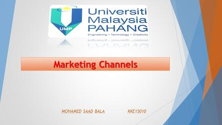 Marketing Channels. What is marketing channels?  A marketing channel is a set of practices or activities necessary to transfer the ownership of goods.