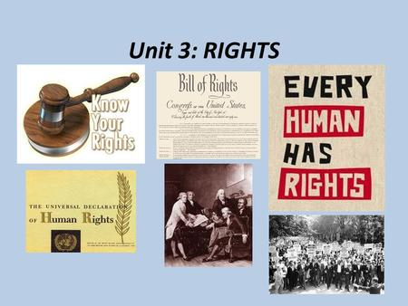 Unit 3: RIGHTS. Who were Federalists & Anti- Federalists? After the Constitution was written at the Constitutional Convention in 1787 to change and improve.