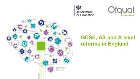GCSE, AS and A level reforms in England l. Contents ■What is happening, when? ■Reformed GCSEs ■Reformed AS and A levels ■Changes to practical science.