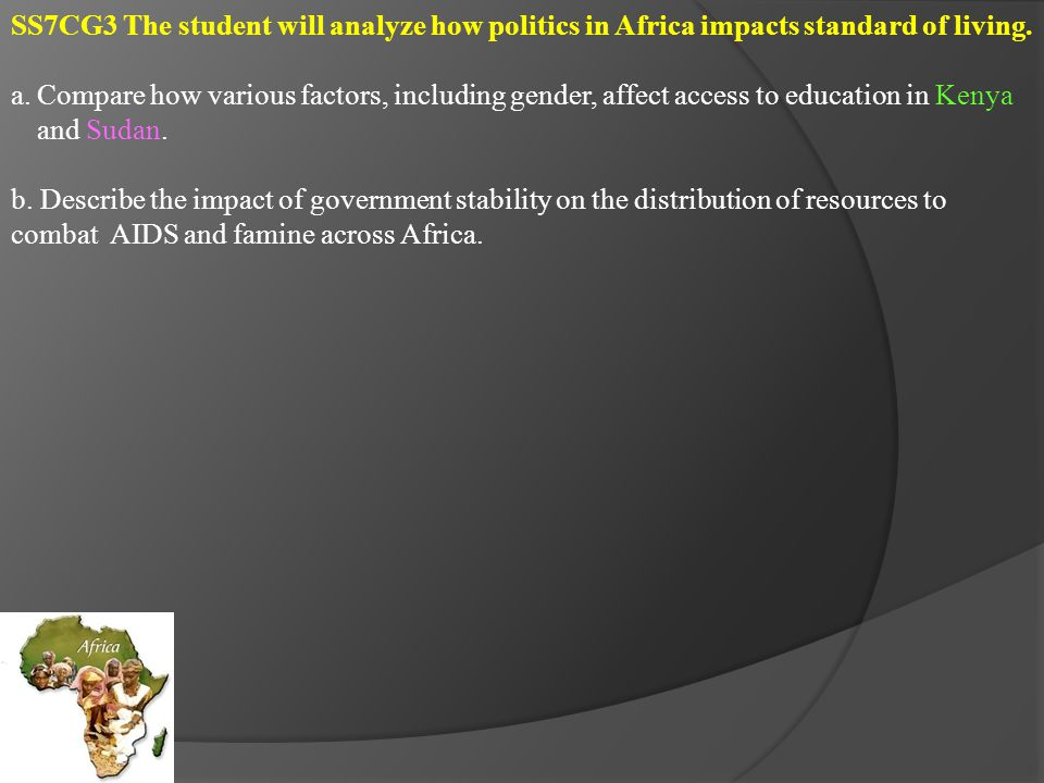 SS7E1 The student will analyze different economic systems.