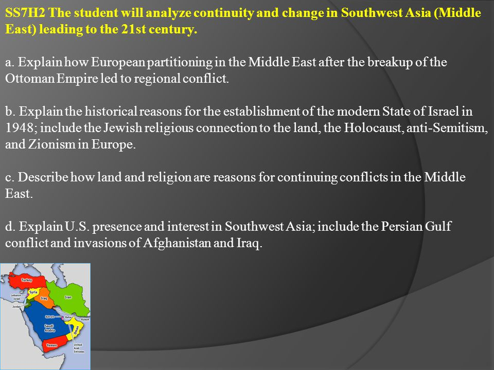 SS7G9 The student will locate selected features in Southern and Eastern Asia.