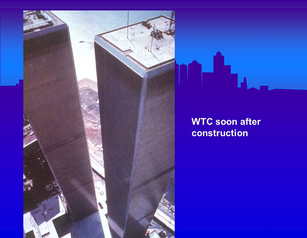 Sequence of Events in the WTC Disaster 8:42 a.m.: AA Flight 11 hits North Tower 8:42 a.m.