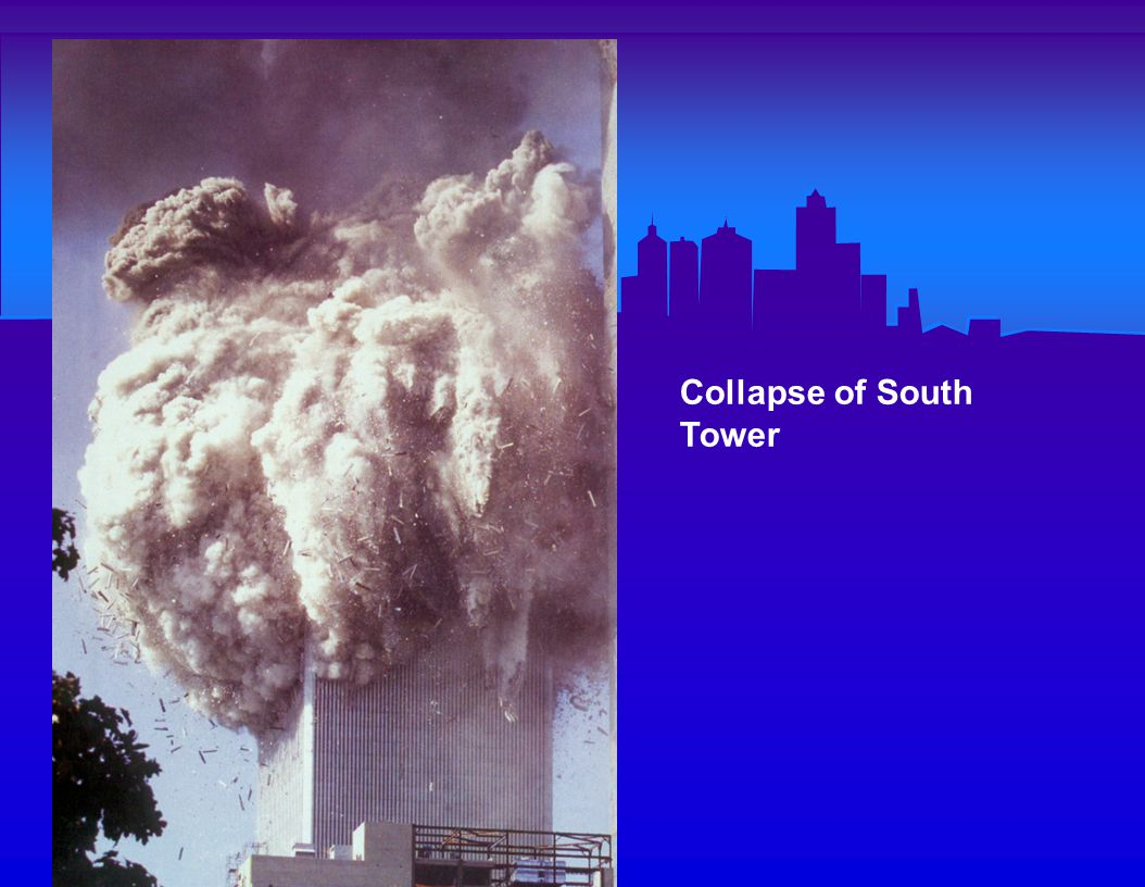 South Tower collapse