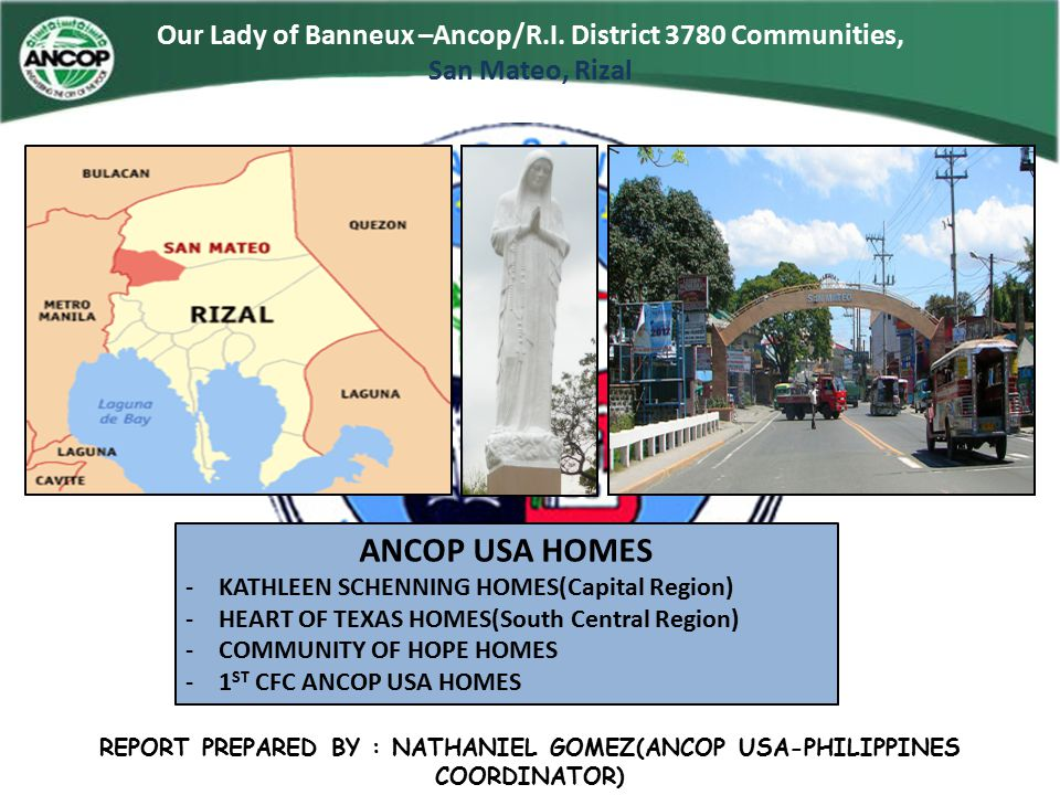 Our Lady of Banneux –Ancop/R.I.