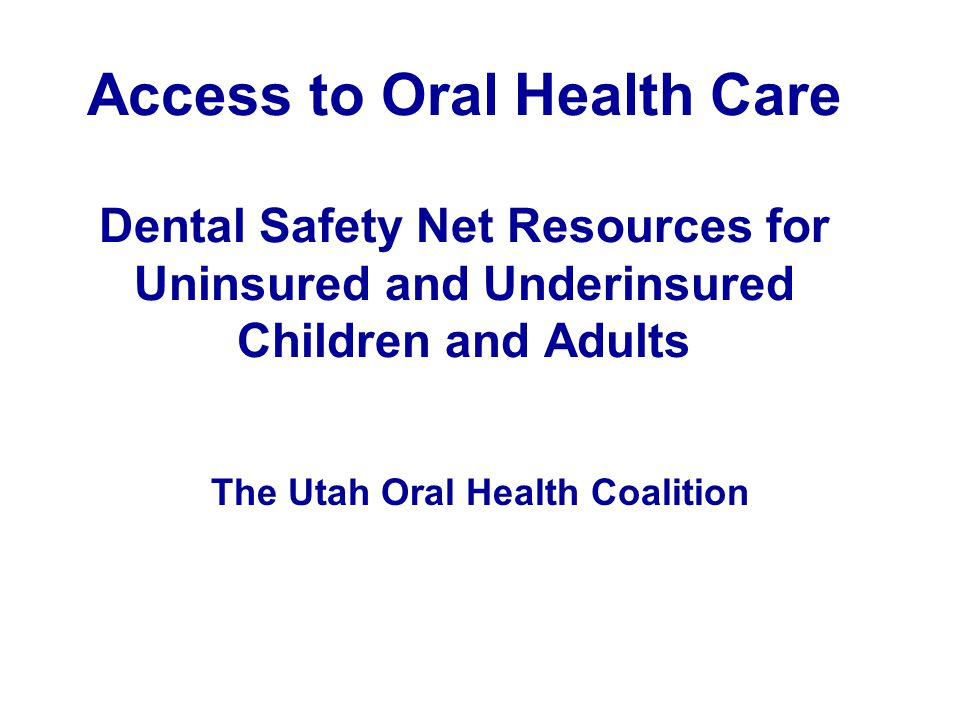 Dental Disease Even though highly preventable, dental disease is the single most common chronic health problem in children and one of the most common health problems in low-income adults.