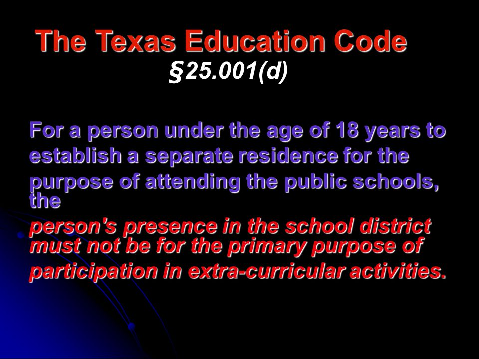 Federal Statute Title X of NCLB