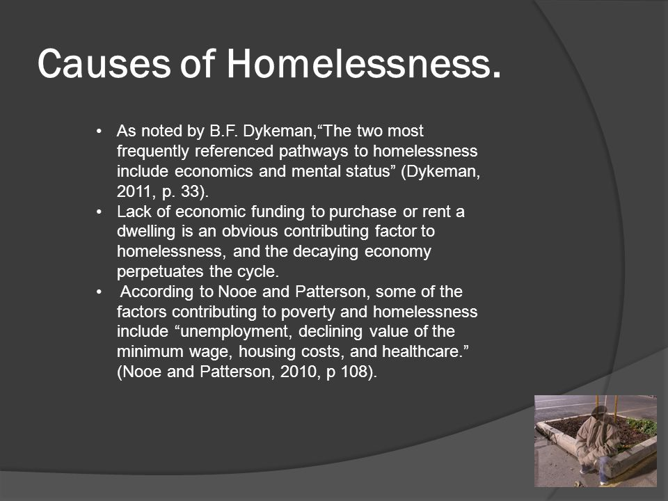 Who Are The Homeless ? They can be anyone, even small children.