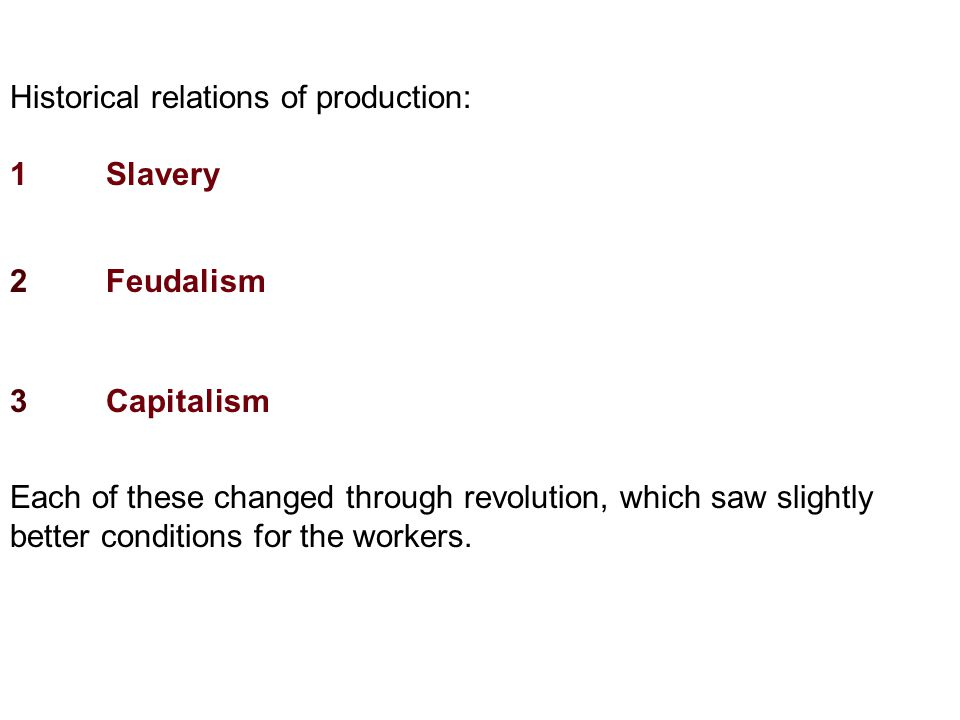 Just as every other system has collapsed, Marx predicts that capitalism will also collapse.