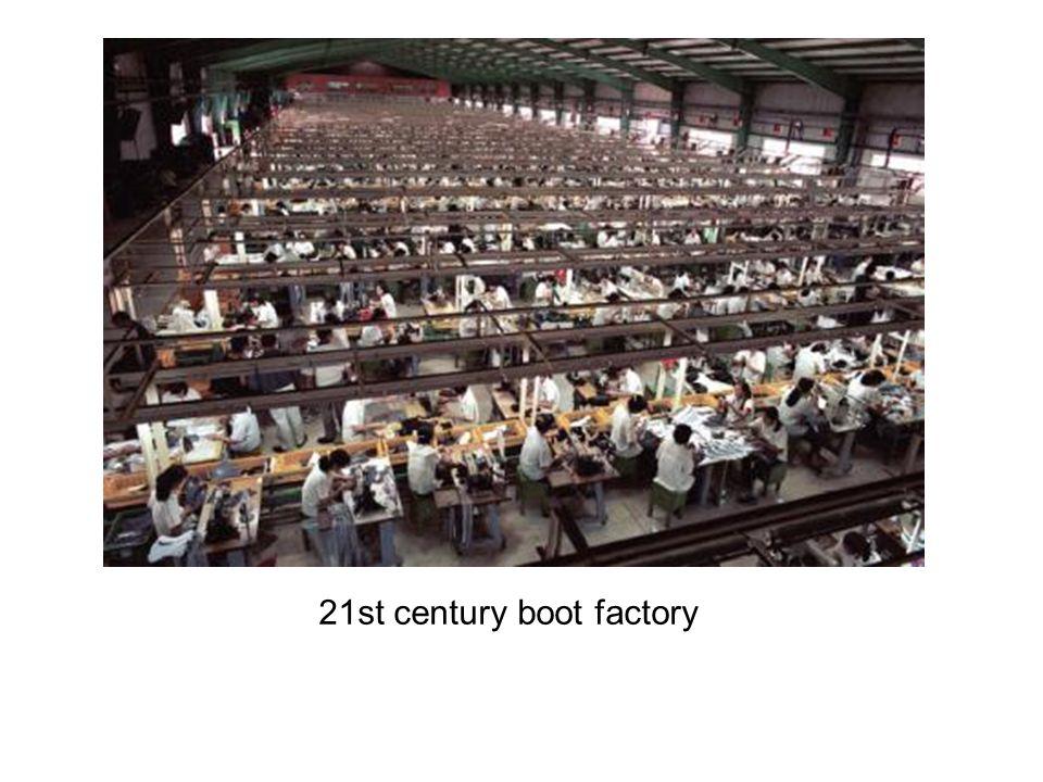 19 th century factory smoke stacks
