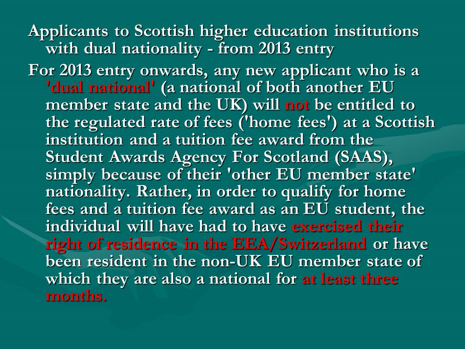 Means-tested grants are available from the local Education and Library Board (ELB).