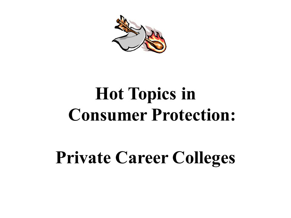 Webinar Overview What are Private Career Colleges (PCCs).
