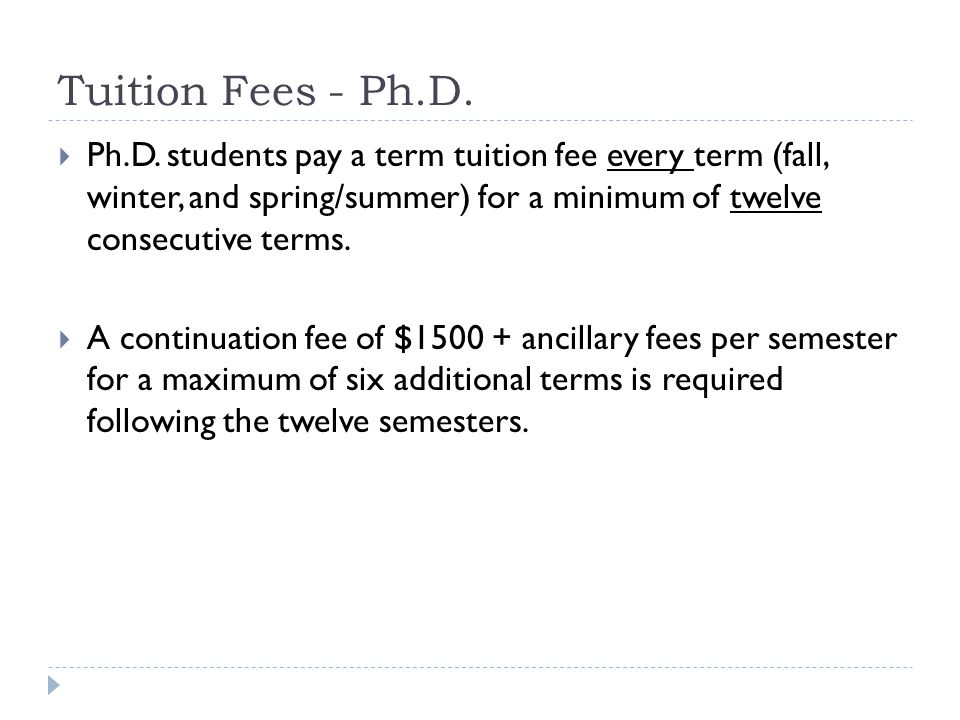 Financial Support  Financial Support for full-time graduate students:  University and government scholarships are available.