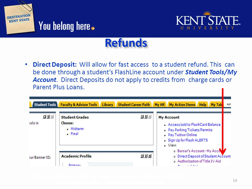 Paper Checks are mailed to: o Campus Address – This is the dorm address and is updated by Residence Services.