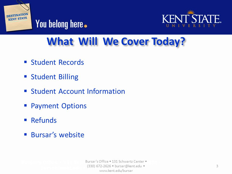 Student Records According to The Family Educational Rights and Privacy Act (FERPA) all student records belong to the student.