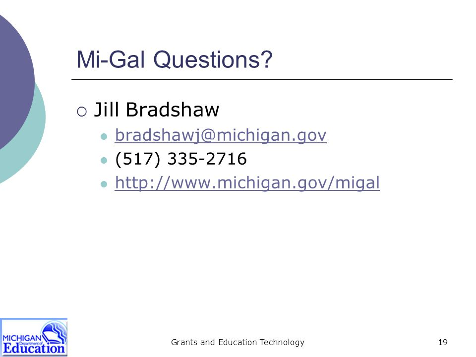 Grants and Education Technology20 E-Rate Questions.