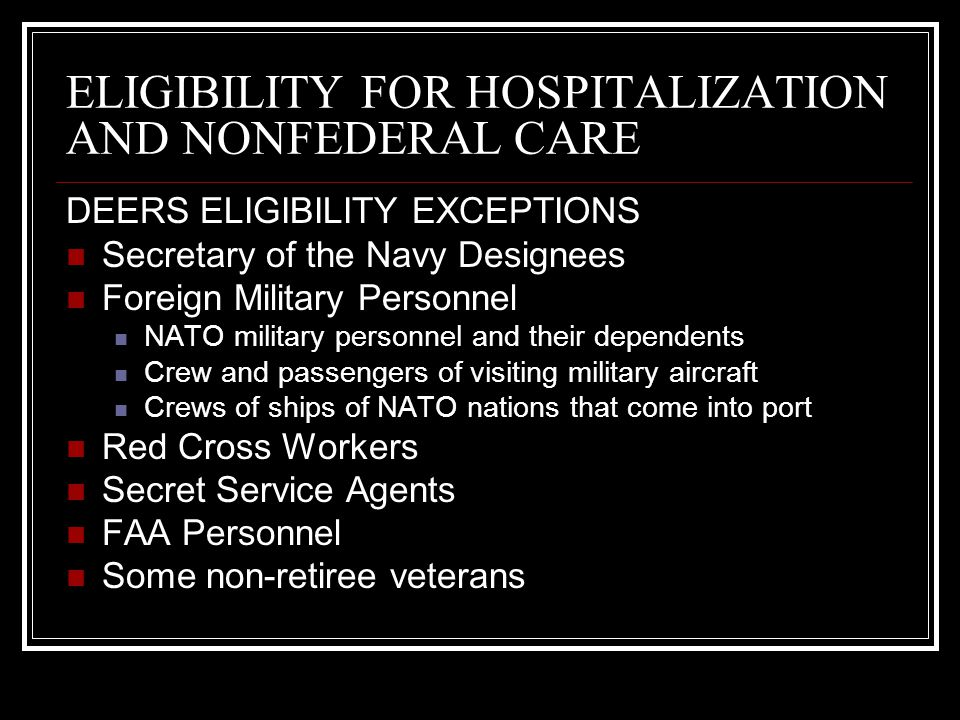 TRICARE TRICARE is an enhancement of the Civilian Health and Medical Program of the Uniformed Services (CHAMPUS).