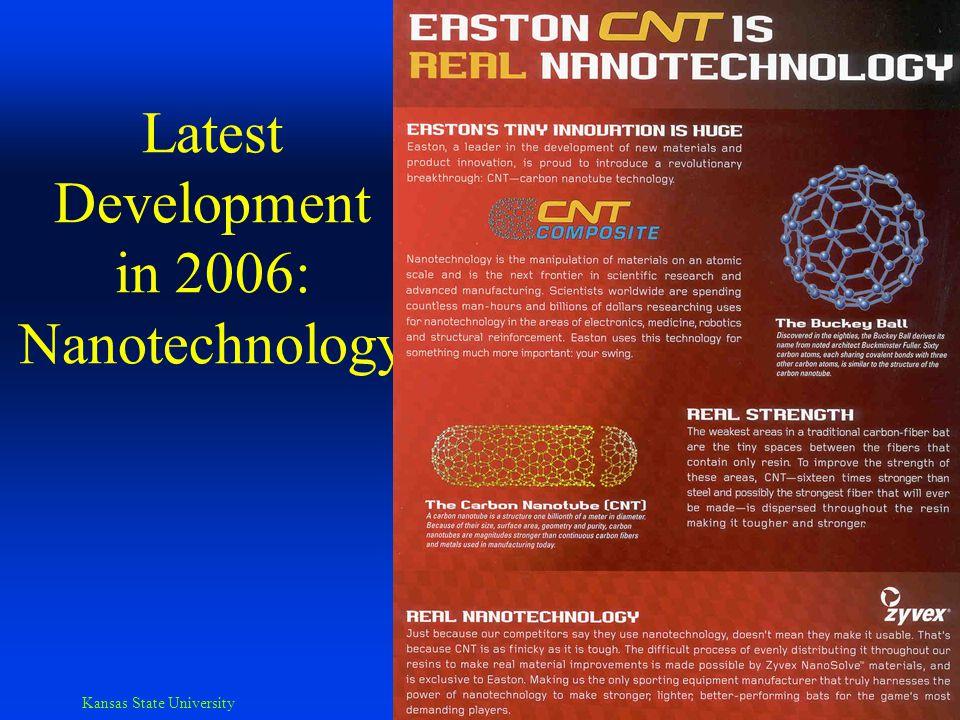 Kansas State University Biomechanics Lab Nano- technology, cont'd