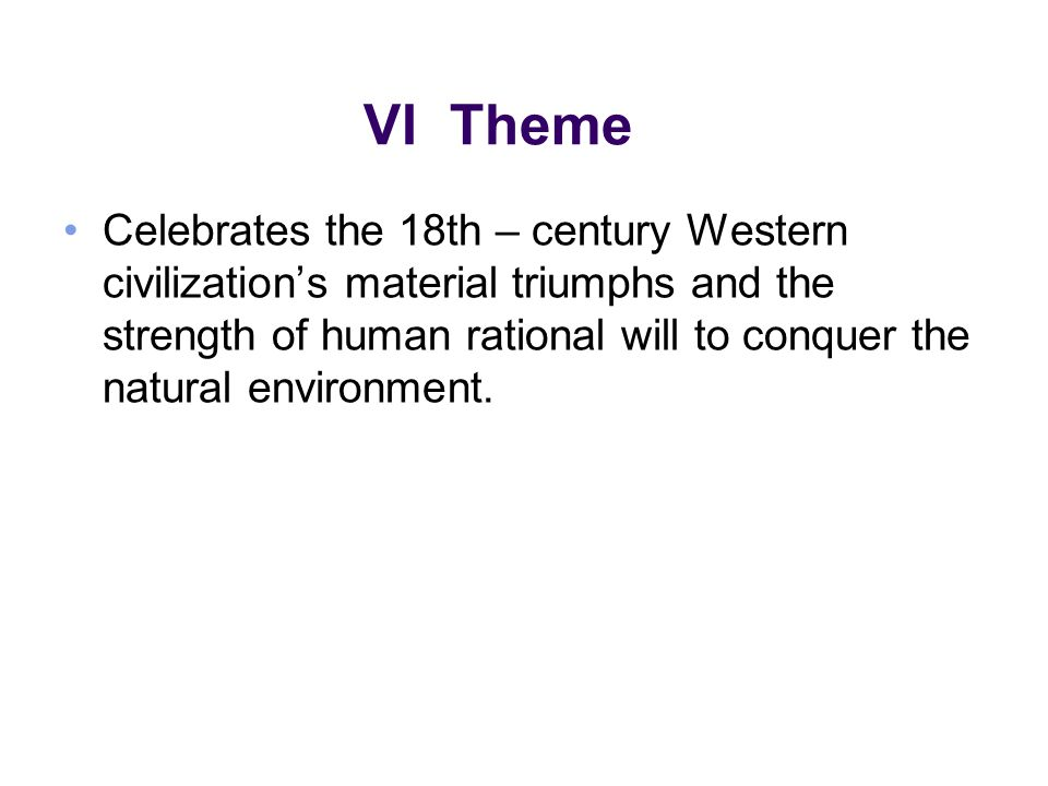 VII Realism It was a loosely used term meaning truth to the observed facts of life.