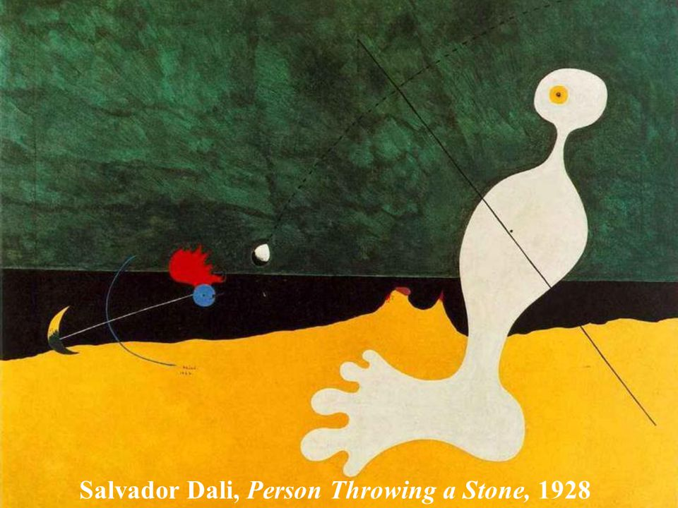 Salvador Dali, Eggs on a Plate Without a Plate 1932