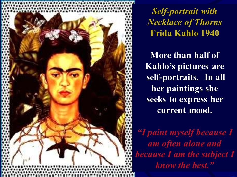 What The Water Has Given Me Frida Kahlo Self Portrait With Cropped Hair