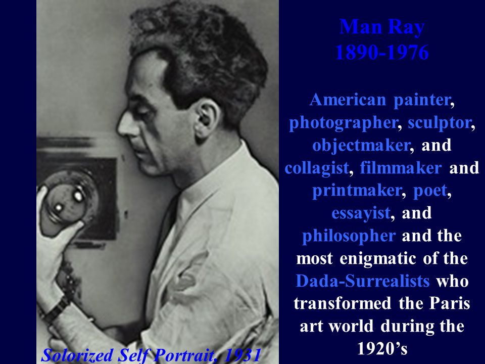 Man Ray, Rayogram 1945 Man Ray produced his first rayogramme in 1921.