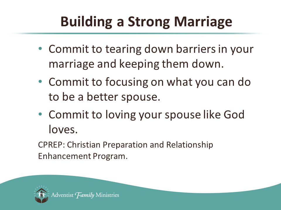 When we base our marriage on a biblical foundation and live by God-designed principles, we will find fulfillment and satisfaction in the marriage relationship.