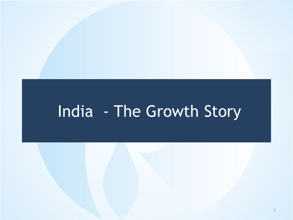 GDP Growth 4  60 years for the first US$ 1 trillion of GDP  It is expected to take only 8 years for US$2 trillion, today India is 10 th largest economy in world  Subsequent trillions in 5 and 4 years