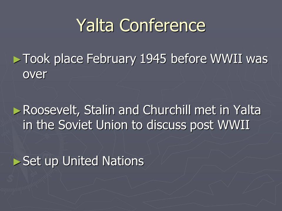 Yalta – The Big 3
