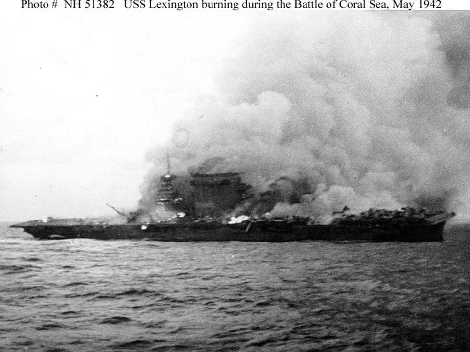 Battle of Midway ► June 1942 ► Admiral Chester Nimitz intercepted Japanese code ► U.S.