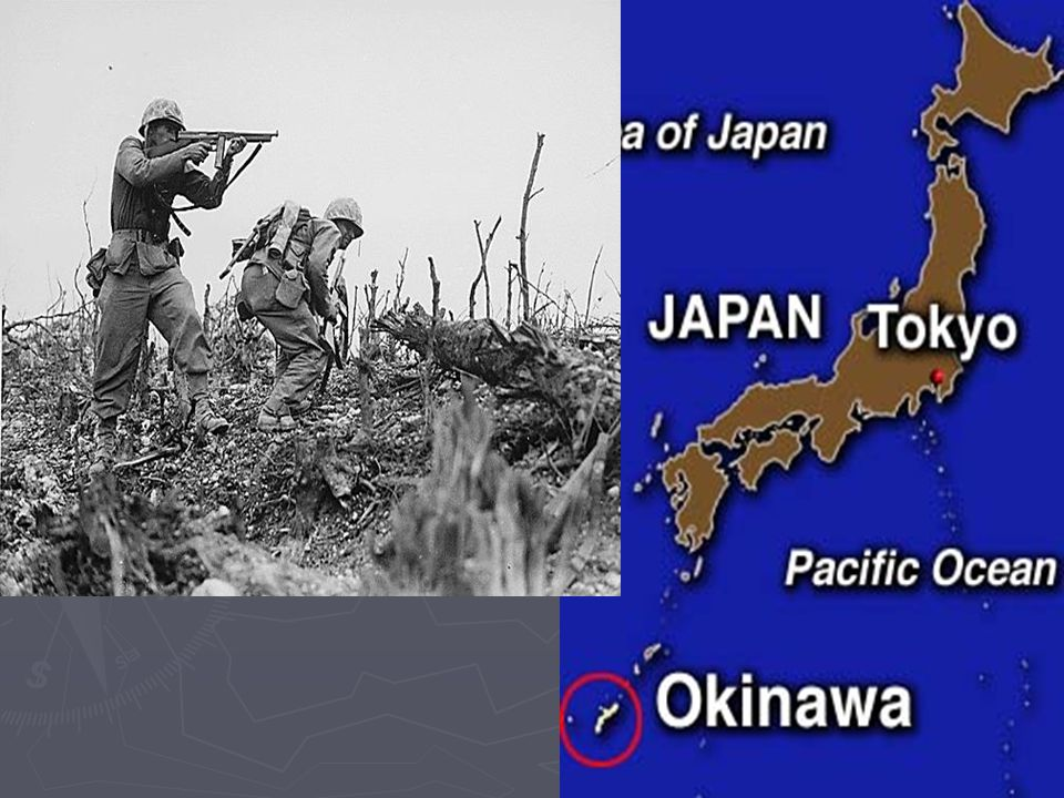 Manhattan Project ► 200,000 Japanese died due to the Atomic bombs dropped on Hiroshima and Nagasaki ► Hiroshima  August 6, 1945  Little Boy  In 43 seconds, the city collapsed to dust ► Nagasaki  August 9, 1945  Fat Man  Leveled half of the city