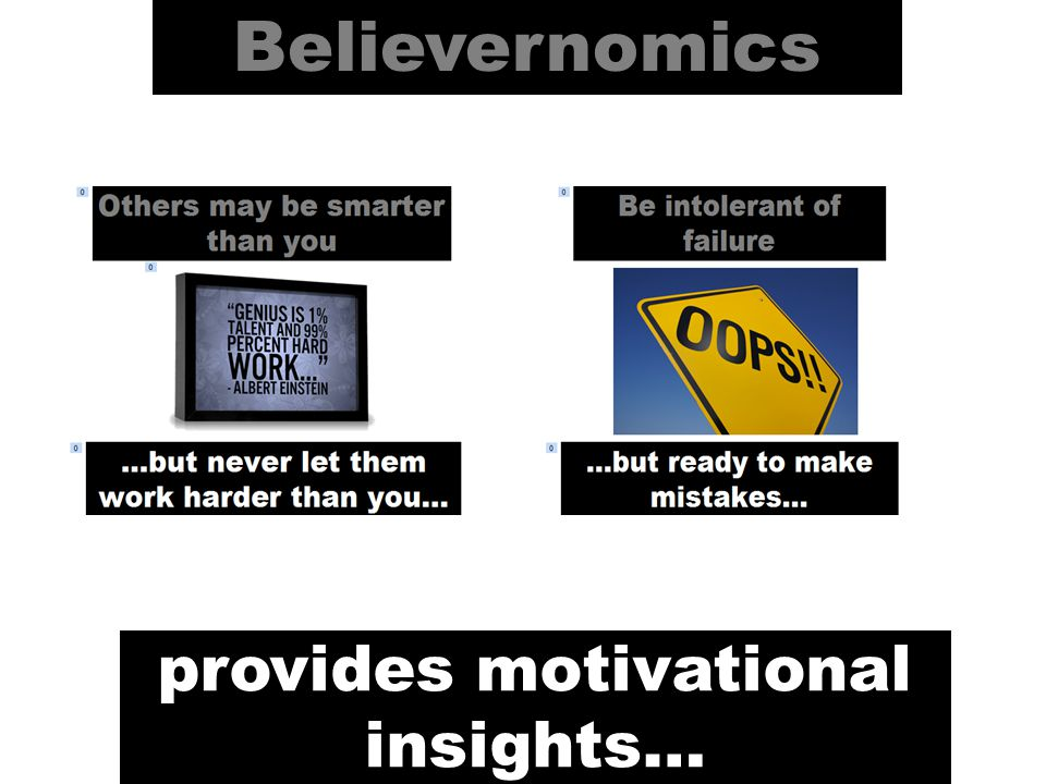 Believernomics is a concept developed and designed by pa360 media.