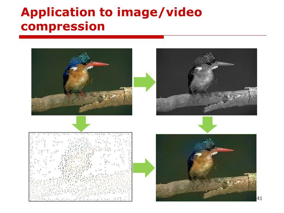 Video compression 42