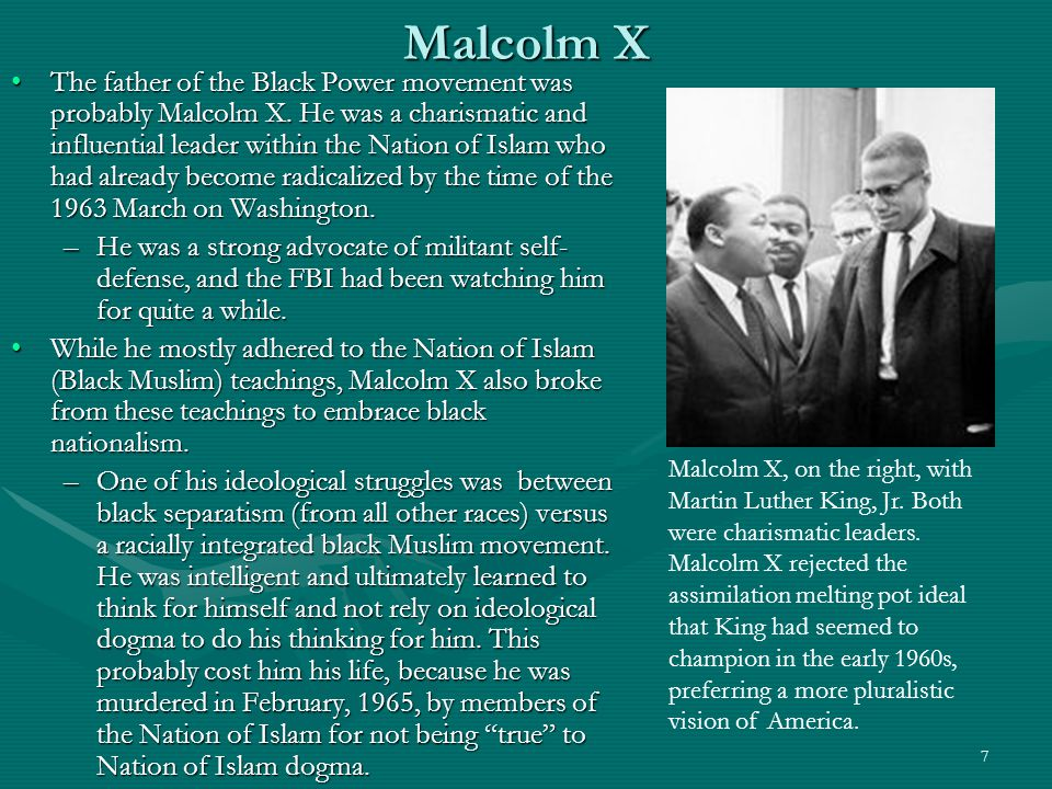 8 Black Power.