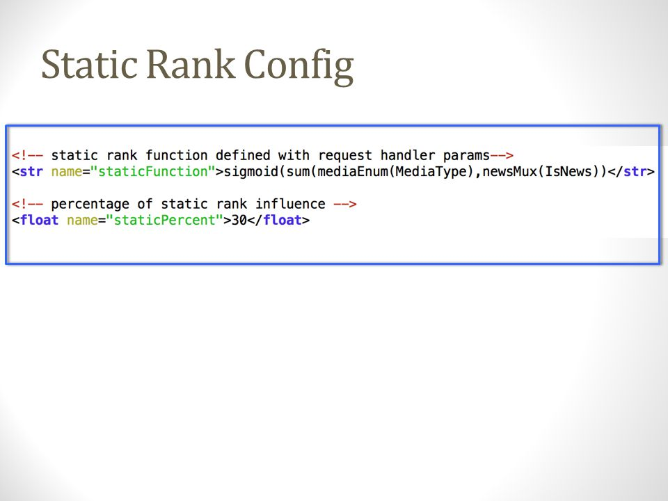 Conclusion solr.ValueSource/Parser - fast and flexible