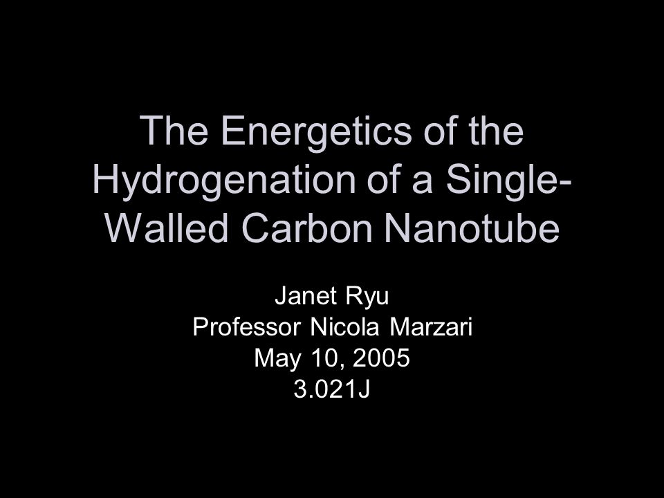 Outline What are carbon nanotubes.Quantum mechanical approaches used.