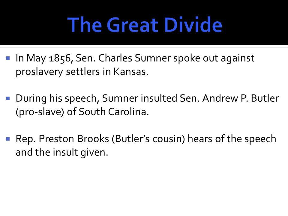  Brooks walks into the Senate chambers; beats Sen.