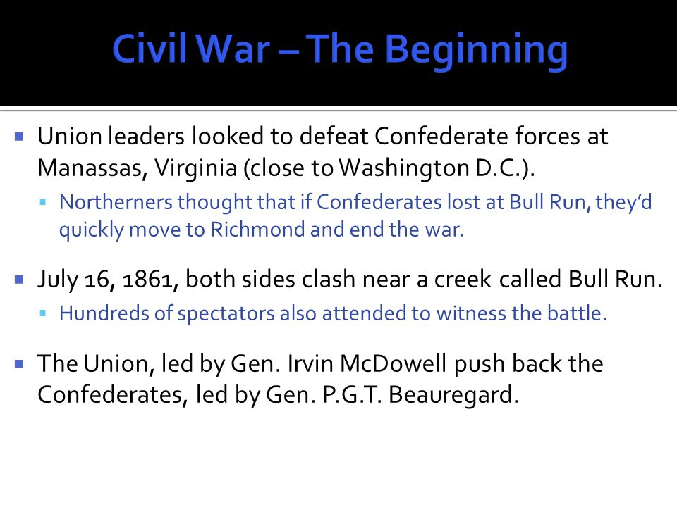  The battle seemed to be nearly over until Confederate counter-attack.