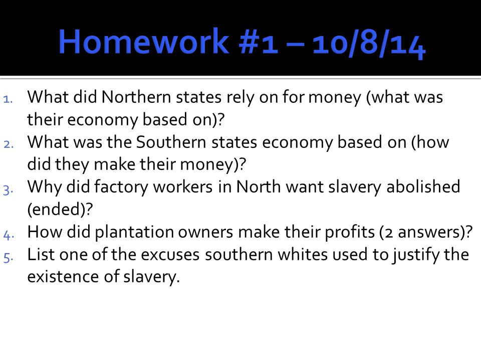  Arguments over slavery continue as new states are added to U.S.