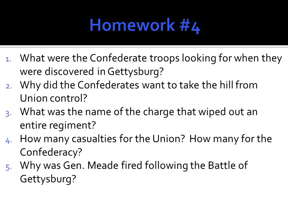 While the Battle of Gettysburg was ending in Pennsylvania, Gen.