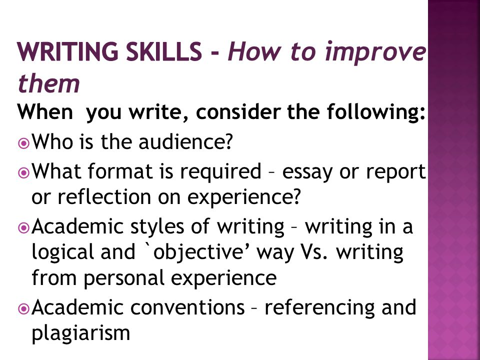  Preparation and planning  Drafting  Re-drafting and polishing  Editing and proofreading  Reflecting on feedback